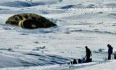 Militares Tentam Acobertar Queda de UFO em Jackhead, Reserva no Canadá.