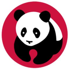 This is an example of a pictorial logo, as it simply uses an image to symbolize the brand. Moreover, the panda logo for panda express has become widely known throughout the country and represents the name.