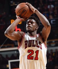 """Jimmy """"Buckets"""" with the jumper."""