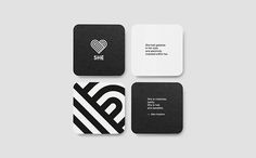 She - A Secret Personal Project on Behance Corporate Identity, Visual Identity, Logo Branding, Logos, Business Cards, Print Design, The Secret, Behance, Stripes