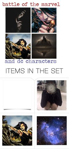 """""""Donna Troy"""" by queen-of-darkness-1 ❤ liked on Polyvore featuring art and DC"""