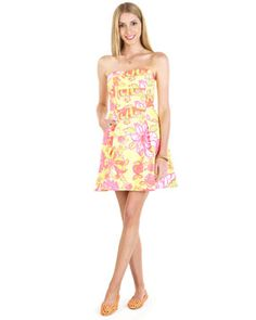 #LillyPulitzer Starfruit Yellow Dress