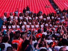 2013 Miami Dolphins Cheerleader Auditions