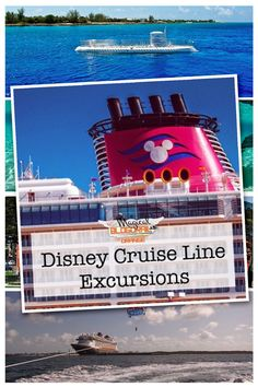 Disney Cruise Line Excursions - at Castaway Cay and popular ports of call