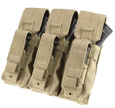 Keep your Kalashnikov fed with the Condor Triple AK Kangaroo Pouch. Built to hold 3 AK mags and 3 pistol magazines. Held secure with heavy duty Velcro. These Pouches have MOLLE on the back to be easily mounted on your MOLLE rig. Condor Tactical, Tactical Vest, Heavy Duty Velcro, Molle Gear, K98, Bug Out Gear, Airsoft Sniper, Molle Pouches, Combat Gear