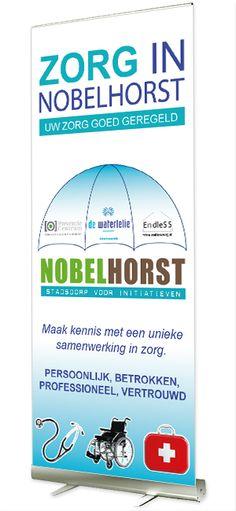 Roll-up banners voor een huisartsenpraktijk in Almere
