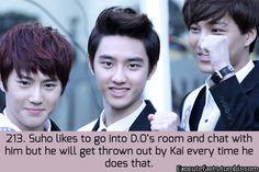 "Kai wants alone time with his Kyungsoo.. Ayieee :"">"
