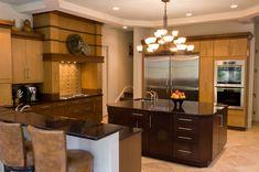 Kitchen Designs - Wood Kitchen Cabinets - Natural Wood in the kitchen