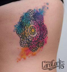 watercolor tattoo colors