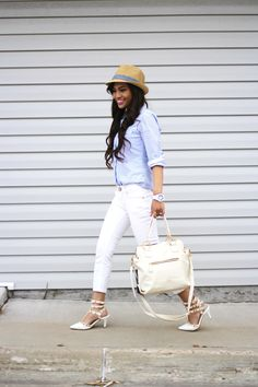style steal, perfect for spring! via EMMA CRISTY