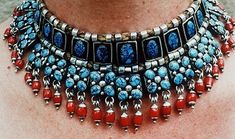 Frank Patania Sr., c. 1955. Unmarked Sterling silver, coral and Mine #8 turquoise.