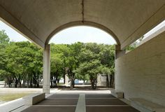 Kimbell Art Museum in Fort Worth by  Louis Kahn