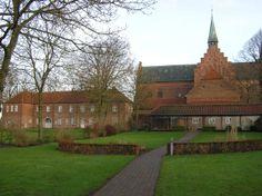 Løgumkloster Kirke og Slottet Denmark