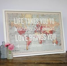 Love this! Not only gorgeous to hang but I genuinely like the quote