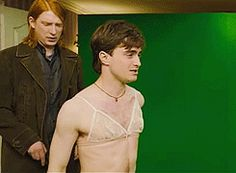 That time he couldn't get a bra off. | 25 Times The Internet Fell In Love With Daniel Radcliffe