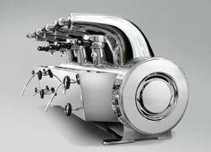 """""""La Cornuta"""" Joe Ponti for La Pavoni - 1949 - coffee machine"""