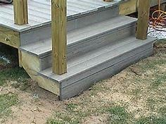 Image result for railing for composite deck stairs