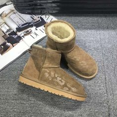 ==> [Free Shipping] Buy Best GXLLD rubber boots womens snow fur snow boots women waterproof Mid-Calf Slip-on Round Toe Flat with Winter Fur Mid-Calf Boots Online with LOWEST Price | 32817158149