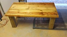 Just another Pallet Table | 1001 Pallets