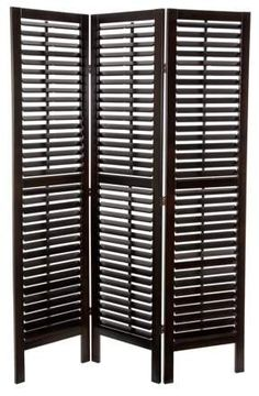 Dark brown room divider looks amazing in eclectic spaces. Oriental Furniture 6' Tall Woven Fiber Room Divider