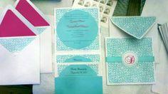 My DIY wedding invitations (aqua) :  wedding diy invitations 2012 08 13 20 00 52 980