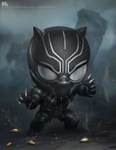 ArtStation - Black panther, kuchu pack