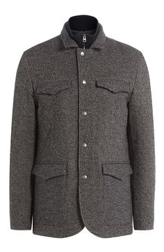 ETRO Layered Jacket With Wool. #etro #cloth #outdoor jackets