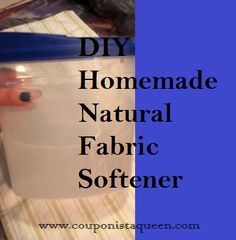 Happy from her first foray into DIY homemade laundry detergent,  Princess T's research has continued with a search for a homemade fabric softener that is natural, green, and environmentally friendly… If you like this post , please Share it or Pin or Repin this recipe for Natural Green Homemade Fabric Softener on Pinterest. _____________________________ Princess T… […]