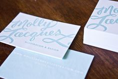 Love this hand lettering by @mollyjacques