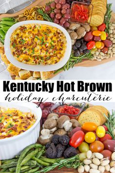 Make this delicious Kentucky Hot Brown Inspired Holiday Charcuterie Board for family and friends this holiday season with ingredients from Kraft Heinz®, found at @Walmart. #ad #HolidaysWithKraft #CelebrateWithKraft Easy Dinner Recipes, Holiday Recipes, Easy Meals, Party Recipes, Dip Recipes, Kentucky Hot Brown, Kentucky Derby, Thing 1, Charcuterie Board