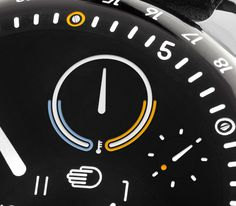 Ressence New Type 3 Watch Thermometer detail - Perpetuelle