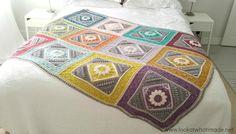 Charlotte's Dream Crocheted Blanket [FREE Crochet Pattern]