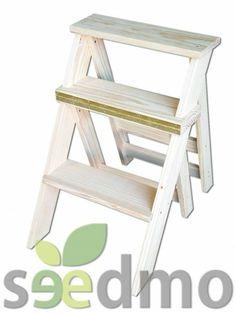¿Es una silla o una escalera?  Essss....una SILLA ESCALERA #hogar