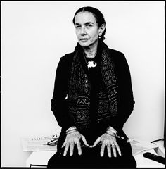 Mary Ellen Mark (1940-2015) - American photographer known for her photojournalism, portraiture, and advertising photography. Photo © Volker Hinz