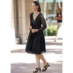 Smock Pocket Dress from Midnight Velvet®