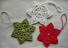 Tresp craft blog: WITH PATTERN: STAR CROCHET