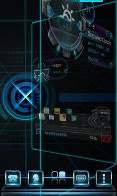 Ray Next Launcher 3D Theme – Screenshot