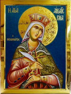St. Katherine by Georgios Zafiriou