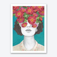 The Optimist Rose Tinted Glasses Art Print. Shop framed and unframed art prints and posters on Fy ✓ Free, fast shipping ✓ 100 day returns ✓ Museum quality paper & printing ✓ Professionally framed Unframed Prints, Canvas Wall Art, Lovers Art, Laura Graves, Painting, Art, Graphic Art Print, Unframed Art Prints, Tints