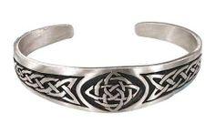 Classic Celtic Knot Design Irish Pewter Bracelet Dan Jewelers, http://www.amazon.com/dp/B00065FZSQ/ref=cm_sw_r_pi_dp_3u.Xpb0TPKQ36
