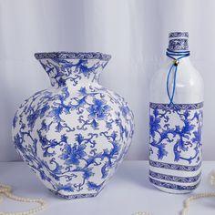 Diy Crafts Hacks, Diy Home Crafts, Diy Arts And Crafts, Creative Crafts, Diy Bottle, Wine Bottle Crafts, Bottle Art, Carton Diy, Plaster Crafts
