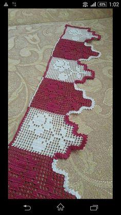 Crochet Edging Patterns, Crochet Borders, Baby Knitting Patterns, Bohemian Rug, Blanket, Holiday Decor, Color, Christmas, Crochet Pillow Covers