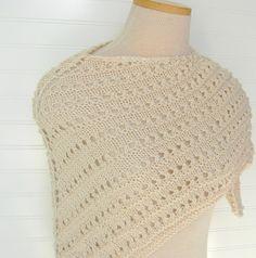 Nice knit shawl!