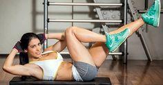 Projeto barriga chapada: o segredo do abdômen de Bella Falconi Workout List, Pilates Workout, Fitness Diet, Health Fitness, Best Abs, Abdominal Muscles, Stay Fit, Personal Trainer, Fitness Inspiration
