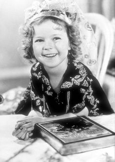 Shirley Temple in Little Miss Marker, 1934.