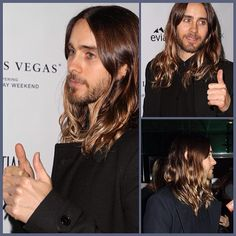 Jaredleto at Los Angeles Confidential Magazine and SLS Las Vegas Celebrate The Oscars with Jared Leto - 28th February 2014