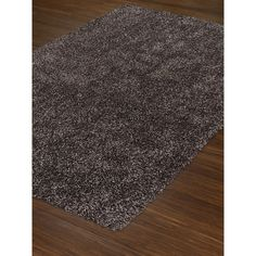 The Grey Area Rug From Collection Illusions Features A Inch High Pile Height