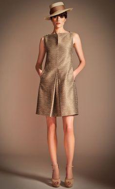 Renata Shift Dress | Designer Evening Dress | Temperley London