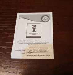 Panini Sticker, World Cup Trophy, Fifa World Cup, Ebay, Stickers, Manuel Neuer, Football Soccer, Germany, Pictures