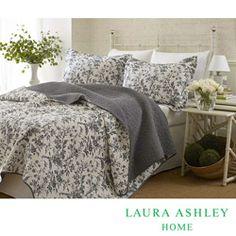 Laura Ashley Amberley 3-Piece Quilt Set